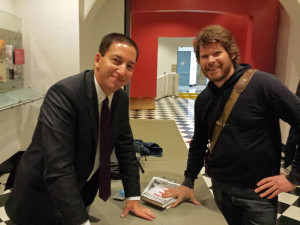 Glenn Greenwald and Barry Fleming